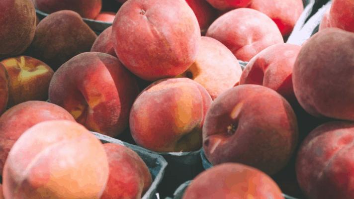 Fresh Peach Schnapps Cake